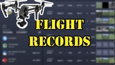 Uçuş Kayıtlarına Nasıl Bakılır ? ( Flight Records in Dji Go4 )