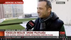 Drone Eğitimleri CNN Türk Ekranlarında 09.12.2019