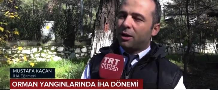 TRT – Muğla Orman Bölge Müdürlüğünde İHA Dönemi