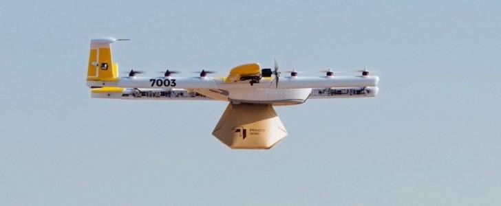 Alphabet'in drone ile teslimat servisi Wing, teslimat sayısını iki katına çıkardı