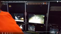A haber hava cekimi canlı yayını Kamera arkası
