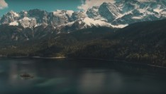Almanya- Garmisch-Eibsee – Zugspitze 4K Dji Phantom Pro 3