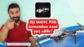 Türkçe DJI mavic pro kumandanızı nasıl şarj etmelisiniz ?
