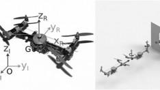 Dar yerden geçerken küçülebilen drone