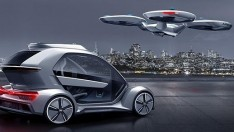 Airbus Ve Audi'den Ortak Drone Araba Projesi