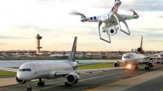 Havada çarpışma tehlikesi: Drone, yolcu uçağına 20 metre kadar yaklaştı
