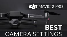 Dji Mavic Pro 2 En iyi Kamera Ayarları (Doğa için Uç Projesi için özel)