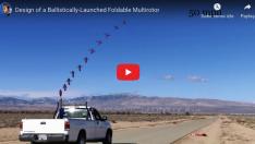 Bilim İnsanları, Balistik Füze Gibi Fırlatılan Drone Geliştirdi