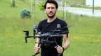 Rüzgar türbinleri artık drone'larla temizleniyor