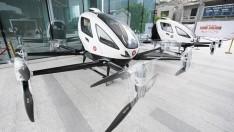 Yolcu taşıyan 'drone'lar hizmette