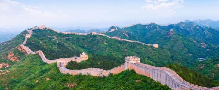Çin Seddi'nin bir kısmı savaş nedeniyle inşa edilmemiş