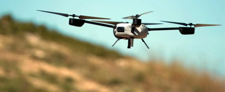 İskoçya'daki adalara, drone'lar ile tıbbi malzeme ulaştırılıyor