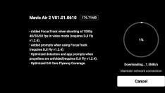 Mavic Air 2 için yeni bir firmware