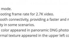 Mini 2'ye tekrar firmware güncellemesi geldi