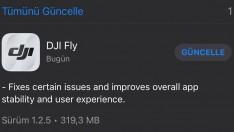 Fly uygulamasına minik güncelleme