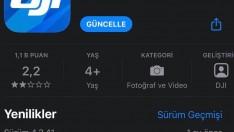 DJI, Go4'e iOS kullanıcıları için güncelleme