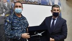 Deniz Kuvvetleri Komutanı TB2'yi üreten Baykar Savunma yönetimi ile bir araya geldi