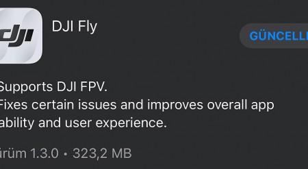 FlyApp'e FPV  güncellemesi