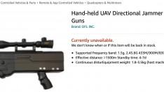 Amazon Amerika anti-drone silahlarını tüketiciyle buluşturmaya hazırlanıyor